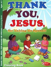 Thank You Jesus Coloring Book - Ages 4-7