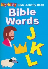 Itty-Bitty Bible Words Activity Book