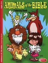 Animals of the Bible Coloring Book--Ages 2 to 5