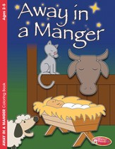 Away in a Manger Coloring Book (ages 2-5)