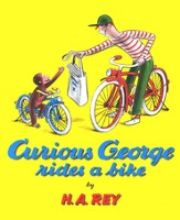 Curious George Rides a Bike Softcover