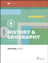 Grade 3 History & Geography Lifepac 9:   Pacific States, 2011 Edition