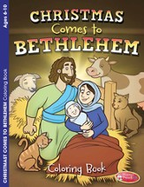 Christmas Comes to Bethlehem Coloring Book--Ages 6 to 10
