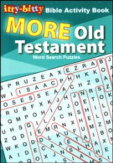 Itty-Bitty Book - Old Testament Word Search