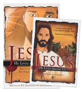 Jesus: He Lived Among Us--Book and DVD