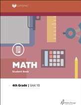 Lifepac Math Grade 4 Unit 10: Estimation, Charts, Graphs