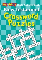 New Testament Crosswords, itty-bitty Bible Activity Book