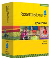 Rosetta Stone Polish Level 2 with Audio Companion Homeschool Edition, Version 3