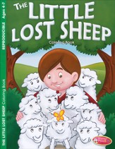 The Little Lost Sheep Coloring Book (ages 4-7)
