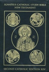 RSV Ignatius Catholic Study Bible New Testament 2nd Edition, Leatherbound