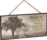 What If Hanging Sign