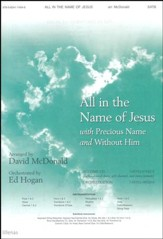 All In The Name Of Jesus/Precious Name,Anthem