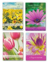 Floral Bouquet, Get Well Cards, Box of 12