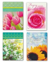 Floral, Get Well Cards, Box of 12