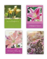 Lilies, Sympathy Cards, Box of 12