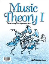 Music Theory I Transparencies (3-4)