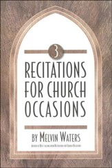 Recitations for Church Occasions 3