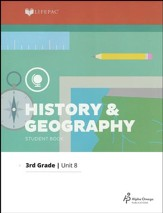 Grade 3 History & Geography Lifepac 8:   Mountain States, 2011 Edition