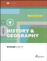 Grade 3 History & Geography Lifepac 10:   US Geography and History Review, 2011 Edition