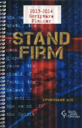 God's Word in Time Scripture Planner: HS Edition, ESV Version (August 2013 - June 2014)