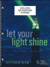 God's Word in Time Scripture Planner: Let Your Light Shine  Elementary/Middle School Teacher Edition (KJV Version; July  2015 - June 2016)