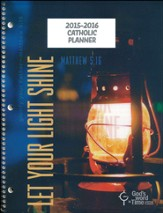 God's Word in Time Scripture Planner: Let Your Light Shine  Secondary Student Edition (NAB Version; July 2015 - June  2016)