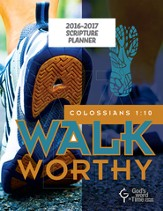 God's Word in Time Scripture Planner: Walk Worthy Elementary  School/Middle School Student Edition (NAB Version; July  2016 - June 2017)