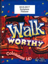 God's Word in Time Scripture Planner: Walk Worthy Primary  Teacher Edition (ESV Version; July 2016 - June 2017)
