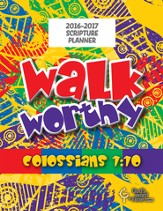 God's Word in Time Scripture Planner: Walk Worthy Elementary  Teacher Edition (NAB Version; July 2016 - June 2017)