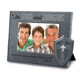 Be Strong and Courageous Photo Frame