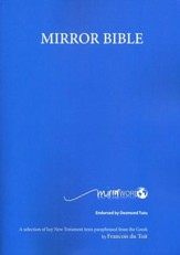 Mirror Bible, 5TH Edition Revised 2015, Paper