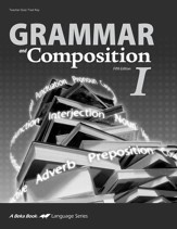 Grammar and Composition I Quizzes & Tests Key