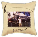 #1 Dad Pillow
