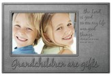 Grandchildren Are Gifts Photo Frame