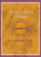 Meditative Solos for Flute (Book with CD-ROM)