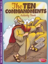 The 10 Commandments--Activity Book (ages 6 to 10)