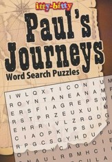 Paul Journey's Wordsearch--Itty-Bitty Bible Activity Book