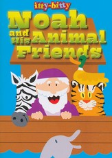 Noah and the Animal Friends--Itty-Bitty Bible Activity Book