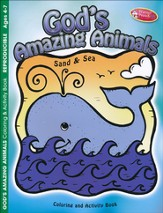 Amazing Animals: Sand and Sea--Coloring & Activity Book (ages 4 to 7)
