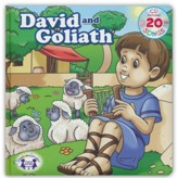 David and Goliath Board Book and CD