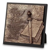 Word of God Sculpture Plaque