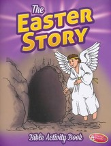 The Easter Story--Bigger Bible Activity Book (ages 6 to 10)