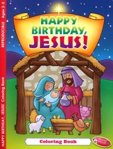 Christmas Happy Birthday, Jesus! Coloring & Activity Book, Ages 2-5