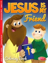 Jesus is My Friend Coloring & Activity Book, Ages 2-5