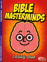 Bible Masterminds Coloring & Activity Book, Ages 6-10