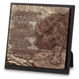 Mustard Seed Sculpture Plaque