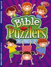 Bible Puzzlers Activity Book, Ages 6-10