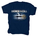 Anwer the Call Shirt, Navy, Large