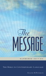 The Message Numbered Edition: The Bible in Contemporary Language - eBook