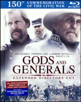 Gods and Generals Blu-Ray Book